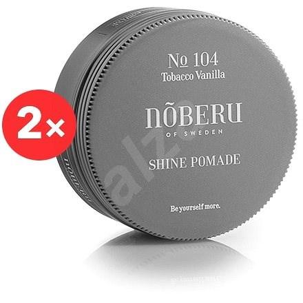 NOBERU Tobacco Vanilla Shine Pomade 2 × 80 ml - Pomáda na vlasy