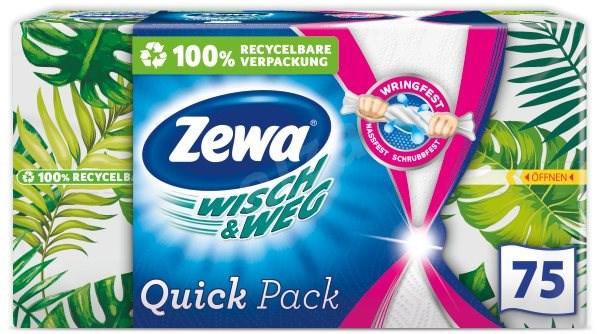 ZEWA Wisch&Weg Quick Pack 75 ks - Kuchyňské utěrky