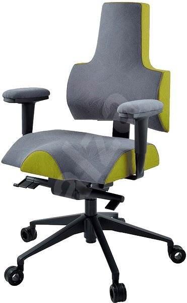 Therapia iENERGY M 6630 šedá / olivová - Kancelářská židle