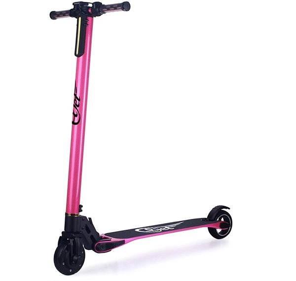 Eljet Carbon light pink  - Elektrická koloběžka