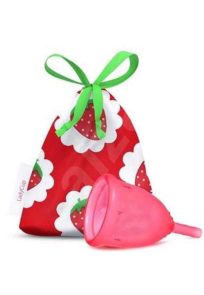 LADYCUP Sweet Strawberry, vel. L - Menstruační kalíšek