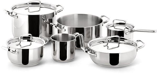Lagostina by Tefal Sada nerez nádobí 10 ks 10740600010 - Sada nádobí