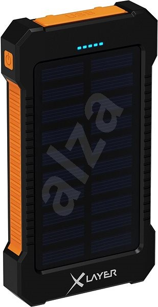 XLAYER Powerbank PLUS Outdoor Solar 8000mAh - Powerbanka