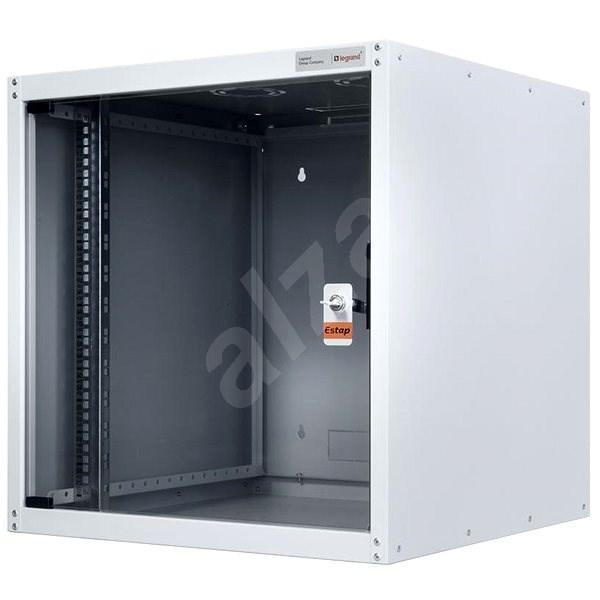 Legrand EvoLine nástěnný datový rozvaděč 9U, 600x600mm, 65kg, skleněné dveře - Rozvaděč
