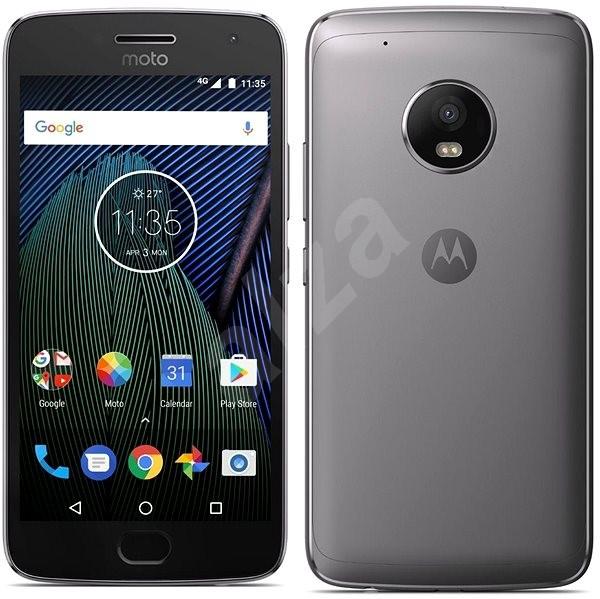 Motorola Moto G Plus 5.generace Grey - Mobilní telefon