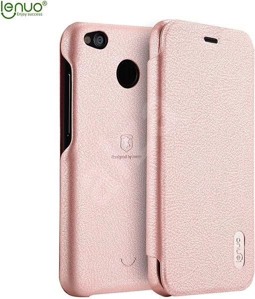 Lenuo Ledream na Xiaomi Redmi 4X růžový - Pouzdro na mobilní telefon ... 4a67a874111