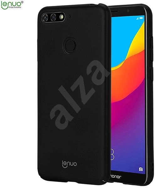 Lenuo Leshield pro Huawei Y6 Prime (2018) Black - Kryt na mobil