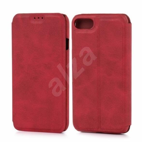 Lenuo LeDe na iPhone 8/7 , červené - Pouzdro na mobilní telefon