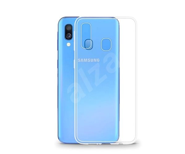 Lenuo Transparent pro Samsung Galaxy A20e - Kryt na mobil