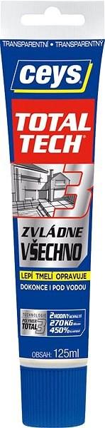TOTAL TECH EXPRESS transparent tuba 125 ml - Lepidlo