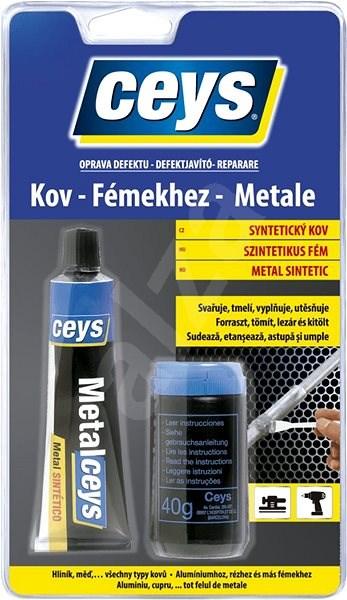 OPRAVA DEFEKTU Syntetický kov 40 ml + 40 g - Lepidlo