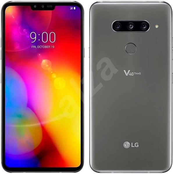 6487f6c90 LG V40 ThinQ šedá - Mobilní telefon | Alza.cz