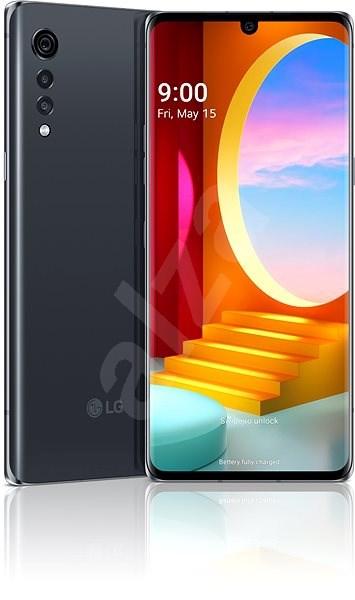 LG Velvet šedá - Mobilní telefon