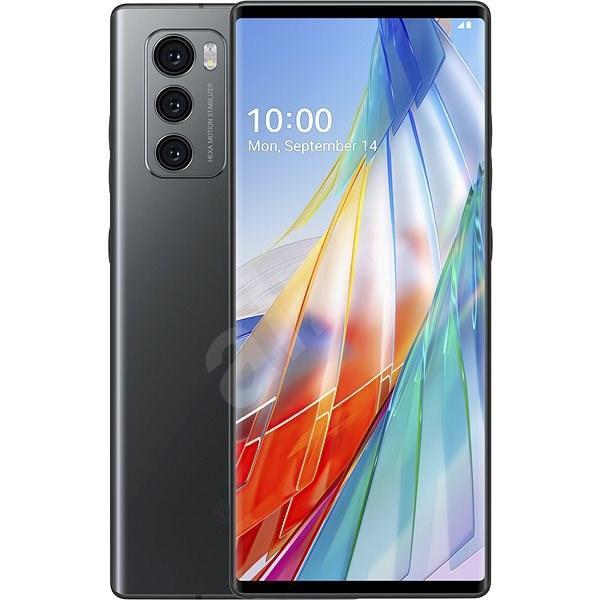 LG WING šedá - Mobilní telefon