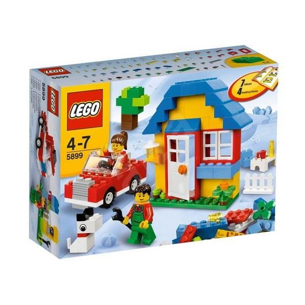 Lego Kostičky 5899 Stavební Sada Domy Stavebnice Alzacz