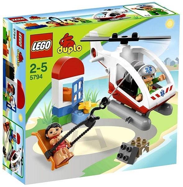 LEGO Duplo 5794 Záchranný vrtulník - Stavebnice