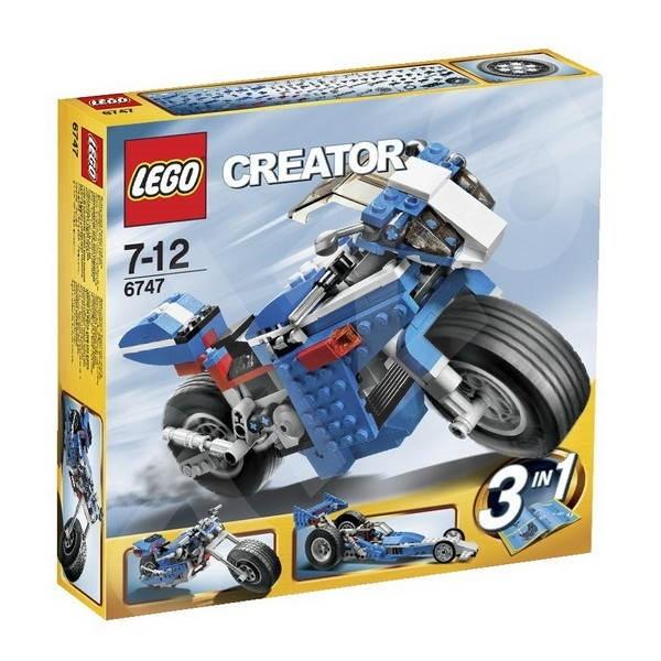 LEGO Creator 6747 Závodní motorka - Stavebnice