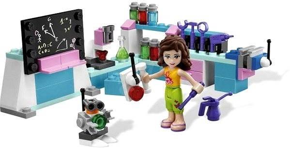 LEGO Friends 3933 Olivia ve svojí dílně - Stavebnice