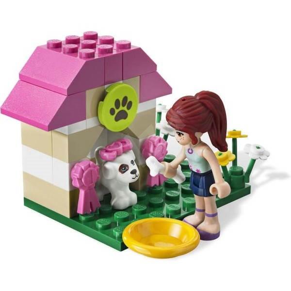 LEGO Friends 3934 Mia a bouda pro štěňátko - Stavebnice