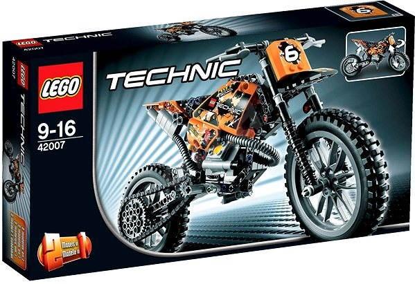 LEGO Technic 42007 Motokrosová motorka - Stavebnice