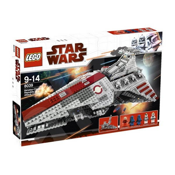 LEGO Star Wars 8039 Republic Attack Cruiser - Stavebnice