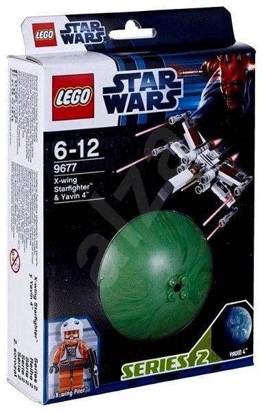 LEGO Star Wars 9677 Hvězdná stíhačka X-wing a Yavin 4 - Stavebnice