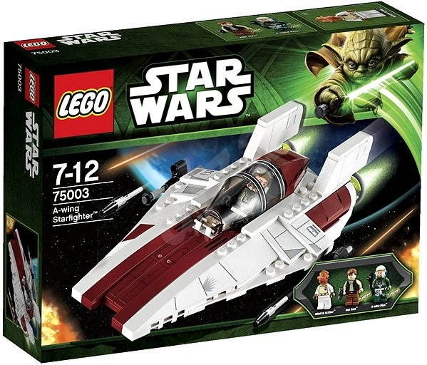 LEGO Star Wars 75003 A-Wing Starfighter (Hvězdná stíhačka A-Wing) - Stavebnice