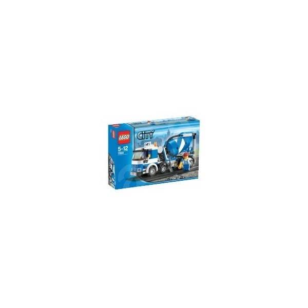 LEGO City Nákladní auto míchačka betonu - Stavebnice