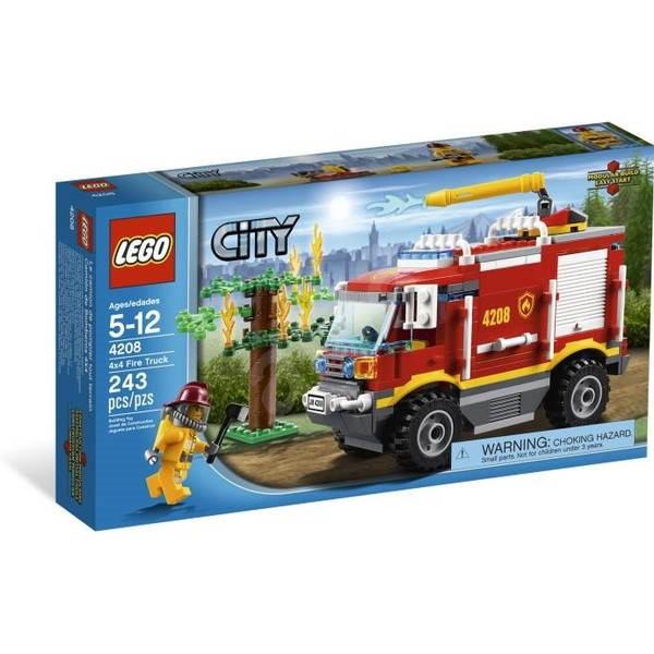 LEGO City 4208 Hasičské auto 4x4 - Stavebnice