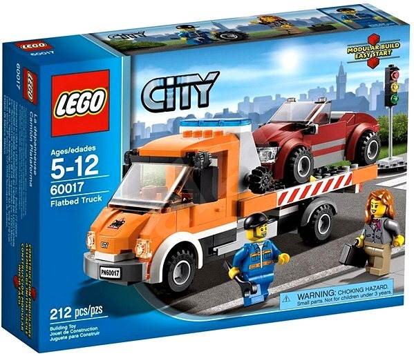 LEGO City 60017 Auto s plochou korbou - Stavebnice