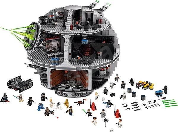 LEGO Star Wars 75159 Hvězda smrti - LEGO stavebnice