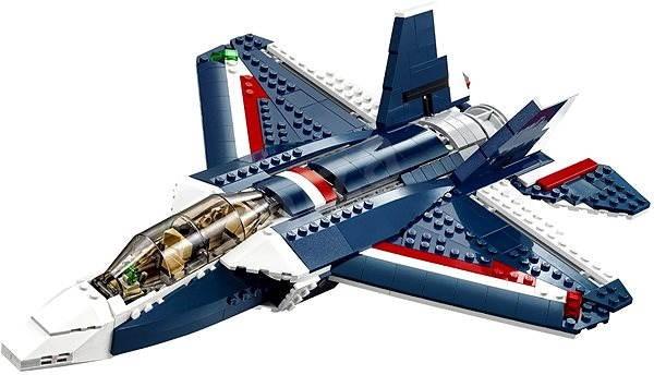 LEGO Creator 31039 Stíhačka Blue Power - Stavebnice