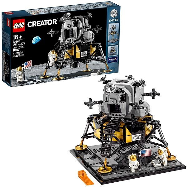 LEGO Creator Expert 10266 Lunární modul NASA Apollo 11 - LEGO stavebnice