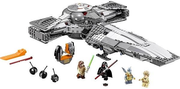 LEGO Star Wars 75096 Sith lnfiltrator - Stavebnice