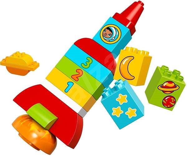 LEGO DUPLO 10815 Moje první raketa - Stavebnice