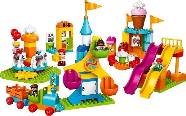 LEGO DUPLO Town 10840 Velká pouť - Stavebnice