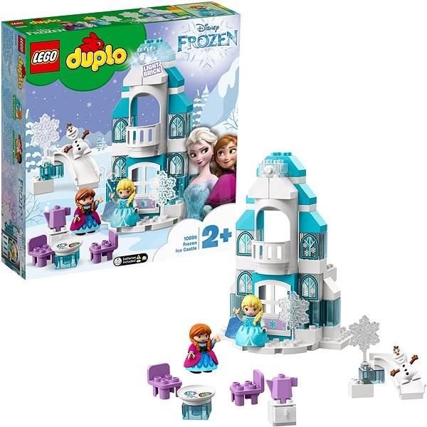 LEGO DUPLO Princess TM 10899 Zámek z Ledového království - LEGO stavebnice