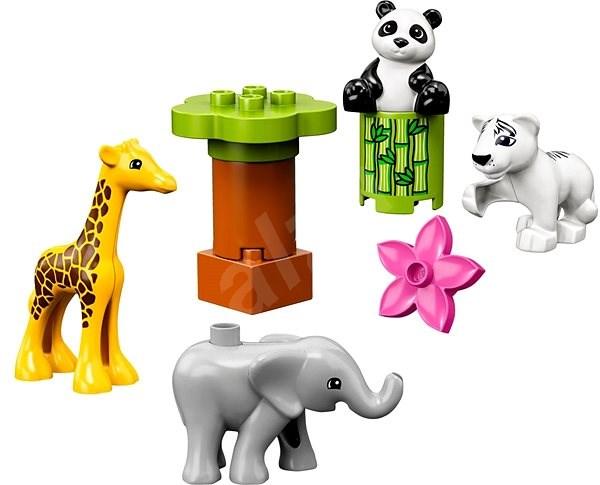 LEGO DUPLO Town 10904 Zvířecí mláďátka - Stavebnice