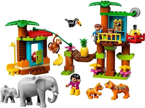 LEGO DUPLO Town 10906 Tropický ostrov - LEGO stavebnice