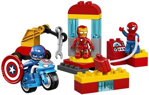 LEGO DUPLO Super Heroes 10921 Laboratoř superhrdinů - LEGO stavebnice