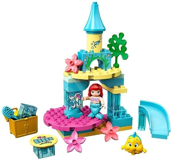 LEGO DUPLO Disney TM 10922 Arielin podmořský zámek - LEGO stavebnice