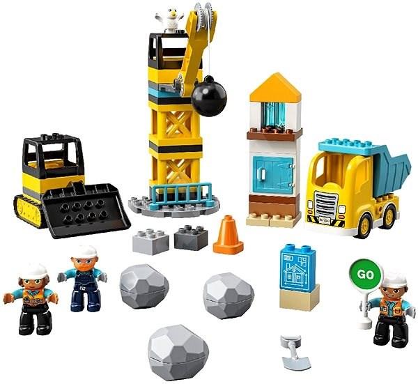 LEGO DUPLO Town 10932 Demolice na staveništi - LEGO stavebnice
