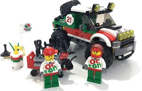 LEGO City 60115 Skvělá vozidla, Terénní vozidlo 4 x 4 - Stavebnice