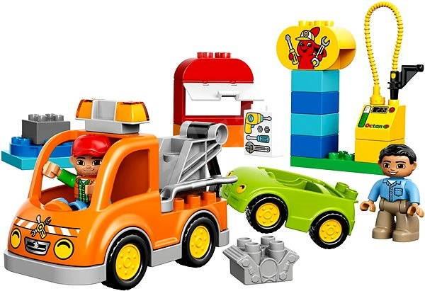 LEGO DUPLO 10814 Odtahový vůz - Stavebnice