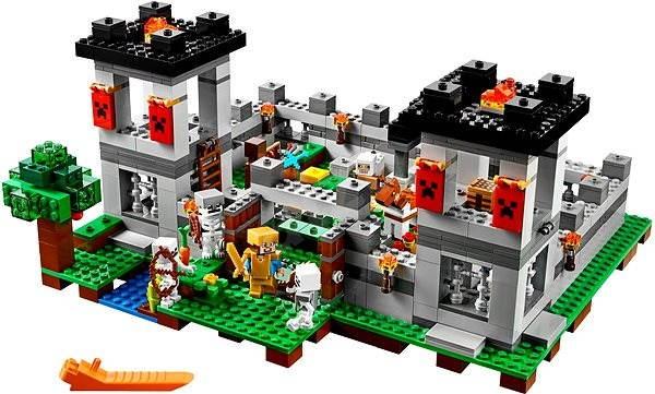 LEGO Minecraft 21127 Pevnost - Stavebnice