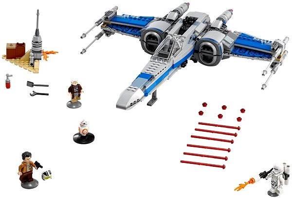 LEGO Star Wars 75149 Stíhačka X-wing Odporu - Stavebnice