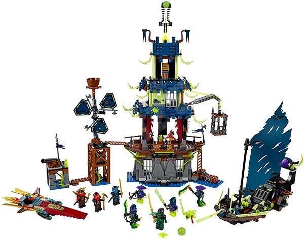 LEGO Ninjago 70732 Město Stiix - Stavebnice