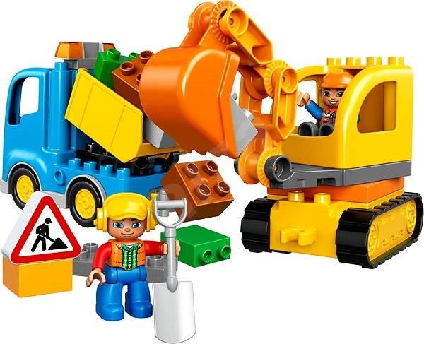 LEGO DUPLO 10812 Pásový bagr a náklaďák - LEGO stavebnice