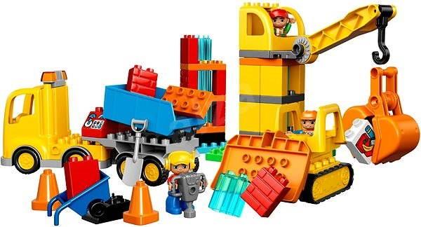 LEGO DUPLO 10813 Velké staveniště - Stavebnice