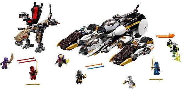 LEGO Ninjago 70595 Ultra tajné útočné vozidlo - Stavebnice